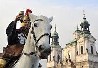 Святой Мартин на Староместской площади в Праге (Фото: ЧТК)