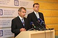 Яромир Драбек и Петр Нечас