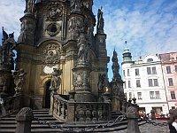 Столб Пресвятой Троицы (Фото: Зденька Кухинева, Чешское радио - Радио Прага)