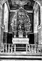 Алтарь в злиховском костеле св. Филиппа и Якова