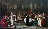 Вацлав Брожик: «Ян Гус перед Констанцким собором» (Фото: Архив Галереи столичного города Прага)