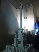 Макет Марианского столба (Фото: Криситна Макова, Чешское радио - Радио Прага)