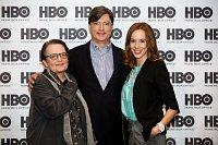 Слева: Режиссер Агнешка Холланд, продюсер Энтони Роот и актриса Таня Паухофова (Фото: Архив HBO)