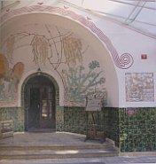 Ян Летцел, вход в здание, Мшене, 1905 г.