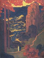 Эмил Орлик «Рай», 1907-1909, галерея худ. искусства Острава