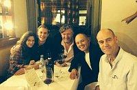 Слева: Anna Friel, Espen Klouman Hoiner, Per Olav Soerensen, John Christian Rosenlund, Philip Torrens (Фото: Facebook Sirena film)
