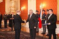 Богуслав Соботка и Милош Земан (Фото: Архив Правительства ЧР)