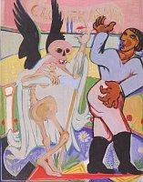 Эмил Филла «Человек и смерть», 1939 г.