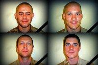 Чешские военнослужащие, погибшие в Афганистане: Ян Шенкырж, Либор Лигач, Иво Клусак и Давид Бенеш (Фото: Архив Армии ЧР)
