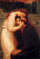 «Слияние душ» (на картине Макс Швабинскийс Эллой Вериховой)