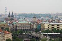 Задние Философского факультета Карлова Университета и дом «На Коцанде» (Фото: Кристина Макова, Чешское радио - Радио Прага)