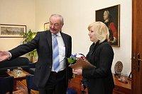 Пржемысл Соботка и Ивета Радичова (Фото: Архив Правительства ЧР)