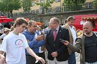 Министр Иван Фукса (в центре)