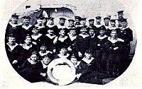 Экипаж австрийского крейсера «Санкт-Георг»
