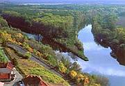 По судоходному каналу вы попадете в воды Эльбы и город Мельник