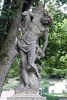 Скульптура святого Себастьяна