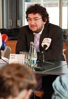 Михал Лукеш (Фото: Барбора Кментова, Чешское радио 7 - Радио Прага)
