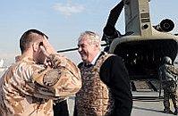 Президент Милош Земан в Афганистане (Фото: ЧТК)