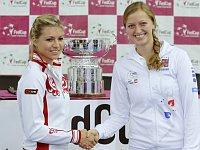 Мария Кириленко и Петра Квитова (Фото: ЧТК)