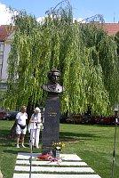 Открытие памятника Пушкину (Фото: Лорета Вашкова, Чешское радио - Радио Прага)