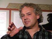 Скупьптор Петр Ваня (Фото: Мартина Била, Чешское радио - Радио Прага)