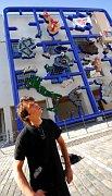 Давид Черны и инсталляция «Энтропа» в центре DOX