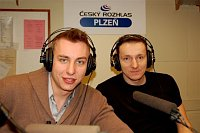 Филип Йиха и Петр Штохл (Фото: Архив Чешского радио)
