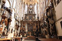 Интерьер собора Девы Марии Снежной