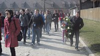 Чешская делегация в Освенциме (Фото: Ася Чеканова)
