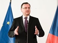 Премьер-министр Петр Нечас (Фото: Филип Яндоурек, Чешское радио)
