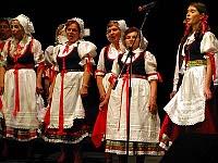 Волынские чехи во время фольклорного фестиваля для чешских соответственников в Праге в 2007 г. (Фото: Архив Чешского радио - Радио Прага)