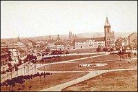 Карлова площадь в 19-ом веке