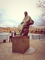 Памятник композитору Сметане (Фото: Олег Фетисов)