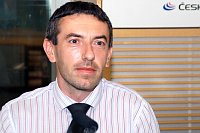 Давид Марек (Фото: Шарка Шевчикова, Чешское радио)