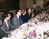 Завтрак дисидентов с президентом Франции Франсуа Миттераном (Фото: Официальный сайт Посольства Франции в ЧР)