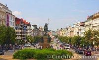 Вацлавская площадь (Фото: CzechTourism)