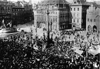 Марианский столб на Староместской площади