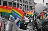 Гей парад в Праге (Иллюстративное фото: Милослав Гамржик, Чешское радио)