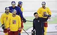 Тренировка чешской сборной (Фото: ЧТК)