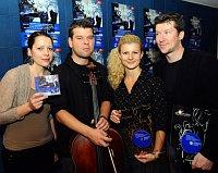 Квартет Хааса, слева: Эва Карова, Петр Ярушек, Вероника Ярушкова и Павел Никл (Фото: ЧТК)