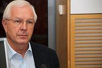 Глава Академии наук Иржи Драгош (Фото: Алжбета Шварцова, Чешское радио)