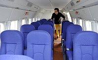 Интерьер самолета Л-410 (Фото: ЧТК)