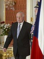 Президент Вацлав Клаус (Фото: ЧТК)